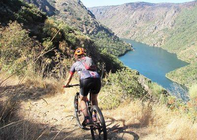 Ruta en mountain bike